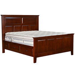 Stuart David Oregon Portland Bed W/Drawers